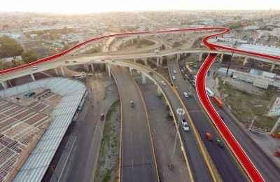 Anuncian construcción del nuevo brazo del distribuidor vial Juárez