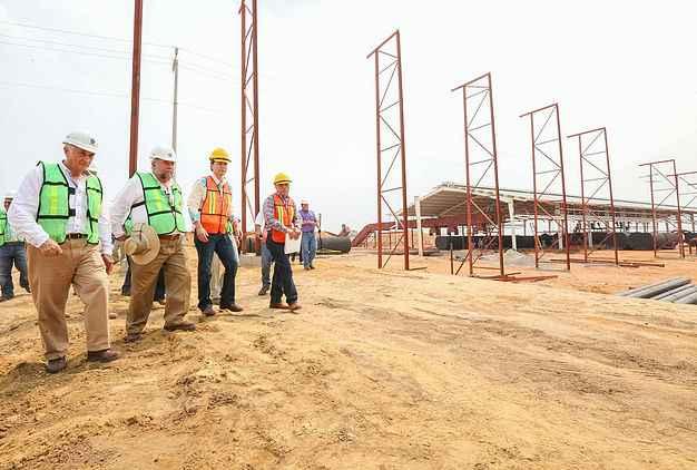 Construcción de la Planta de Aceites Sustentables tiene avance de 70%