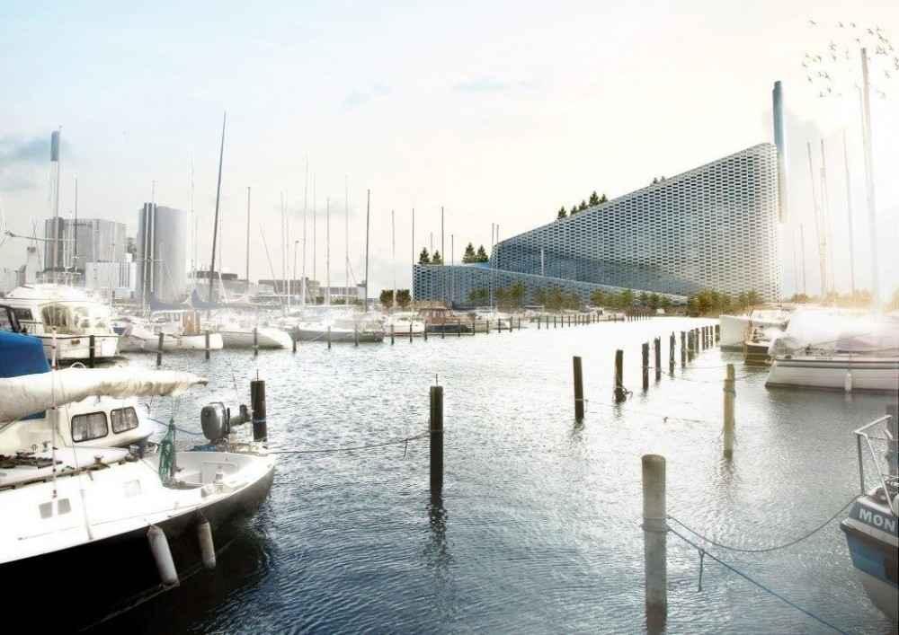 Construyen en Copenhague planta transformadora de deshechos en energía
