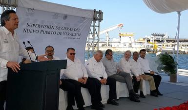 Nuevo Puerto de Veracruz movilizará 95 millones de toneladas: SCT