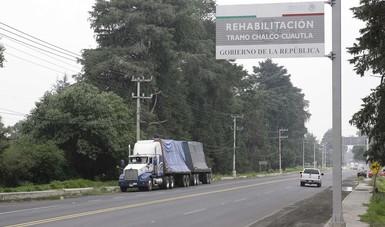 Amplían vialidades de acceso a la Ciudad de México