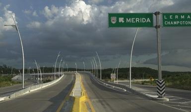 SCT modernizó infraestructura vial de Campeche
