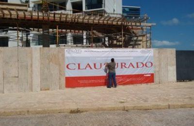 Clausuran complejo turístico en Cancún