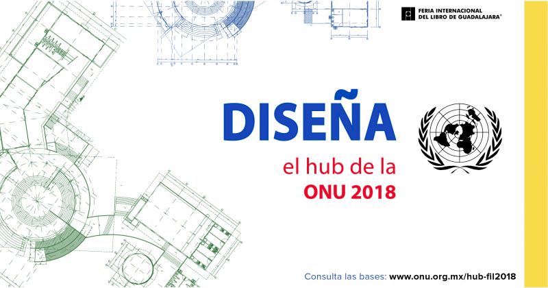 Convocan para diseñar stand de las Naciones Unidas para la FIL 2018