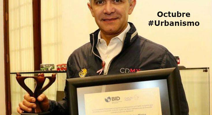 #LoMejorDelAño CDMX recibe premio por sistema de monitoreo de desarrollo