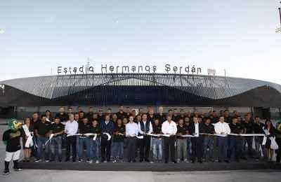 Estadio Hermanos Serdán concluye remodelación