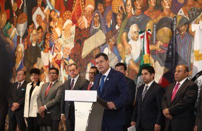 Presupuesto asignado es certeza para reconstrucción: Amieva Gálvez