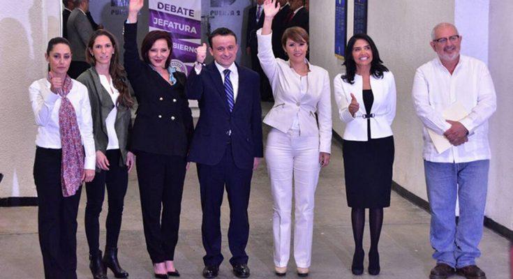 Candidatos por jefatura de CDMX presentan propuestas de movilidad