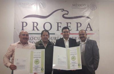 Profepa entregó certificados de industria limpia en Hidalgo