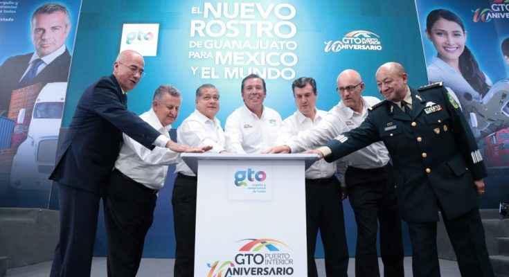 Celebran 10 años del centro Guanajuato Puerto Interior