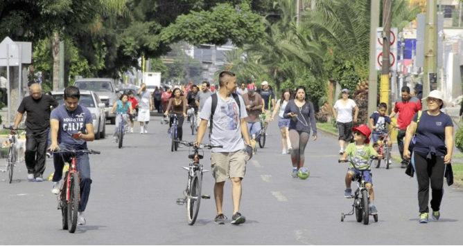 Construyen ciclovías para mejorar movilidad