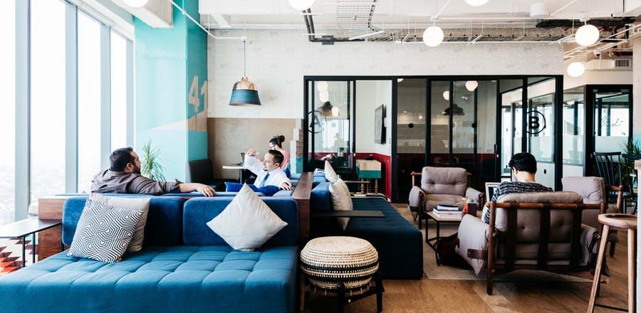 Construyen nueva oficinas de WeWork