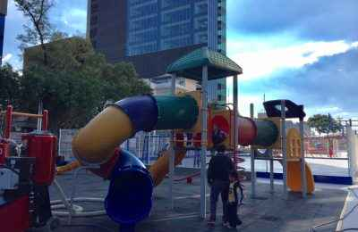 Concluyen trabajos de rehabilitación en Glorieta de los Insurgentes