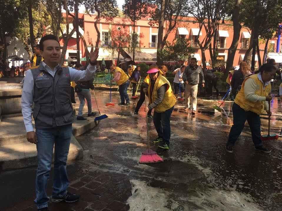 Inician actividades de rescate en Coyoacán