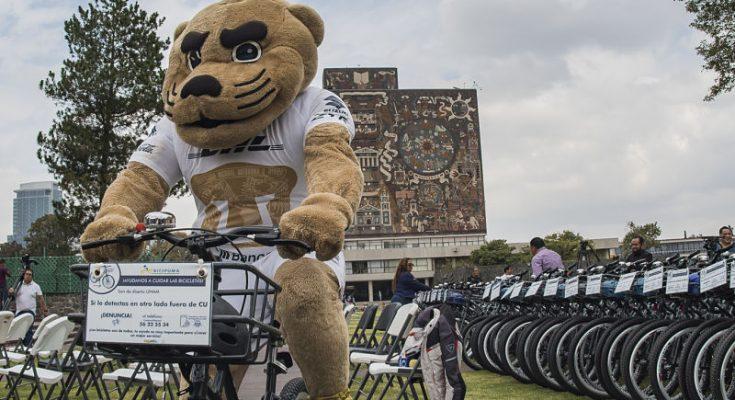 UNAM renueva el servicio de Bicipuma en Ciudad Universitaria