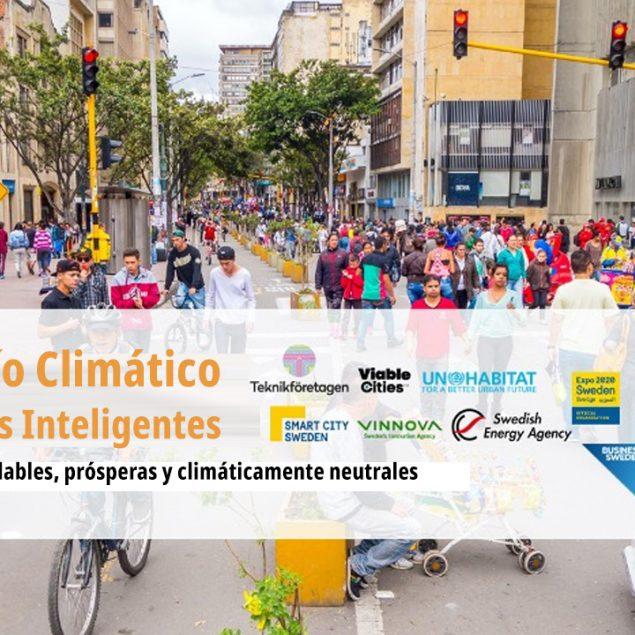 Invitan a cuatro ciudades al desafío climático para ciudades inteligentes