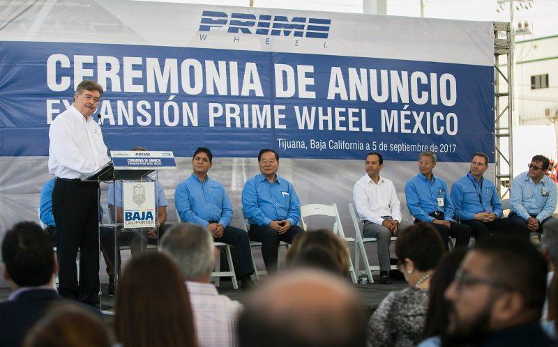 Anunciaron ampliación de Prime Wheel de México