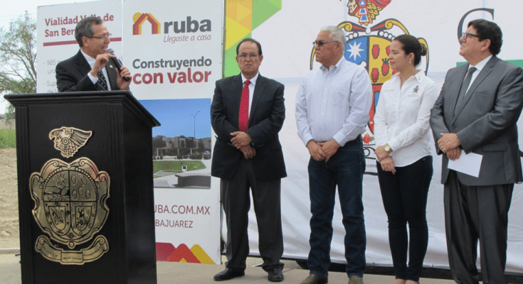 Unen esfuerzos Ruba y Sadasi para mejorar infraestructura en Cd. Juárez