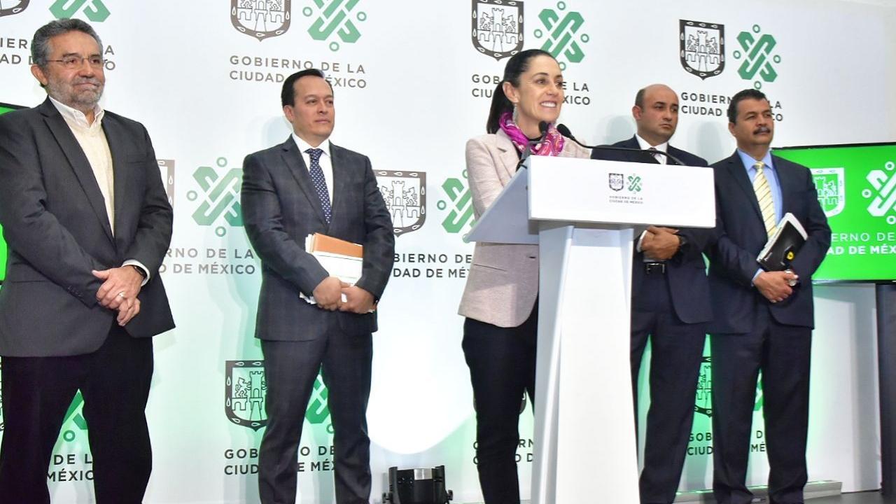 GCDMX invertirá presupuesto histórico para obras del Sacmex