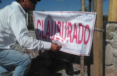 Clausuran dos proyectos inmobiliarios en San Blas