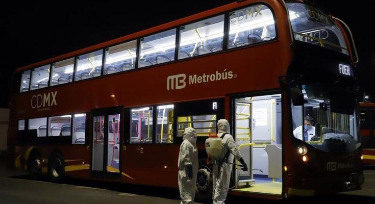 medidas-sanitarias-metrobús-tren-ligero-generan-240-empleos