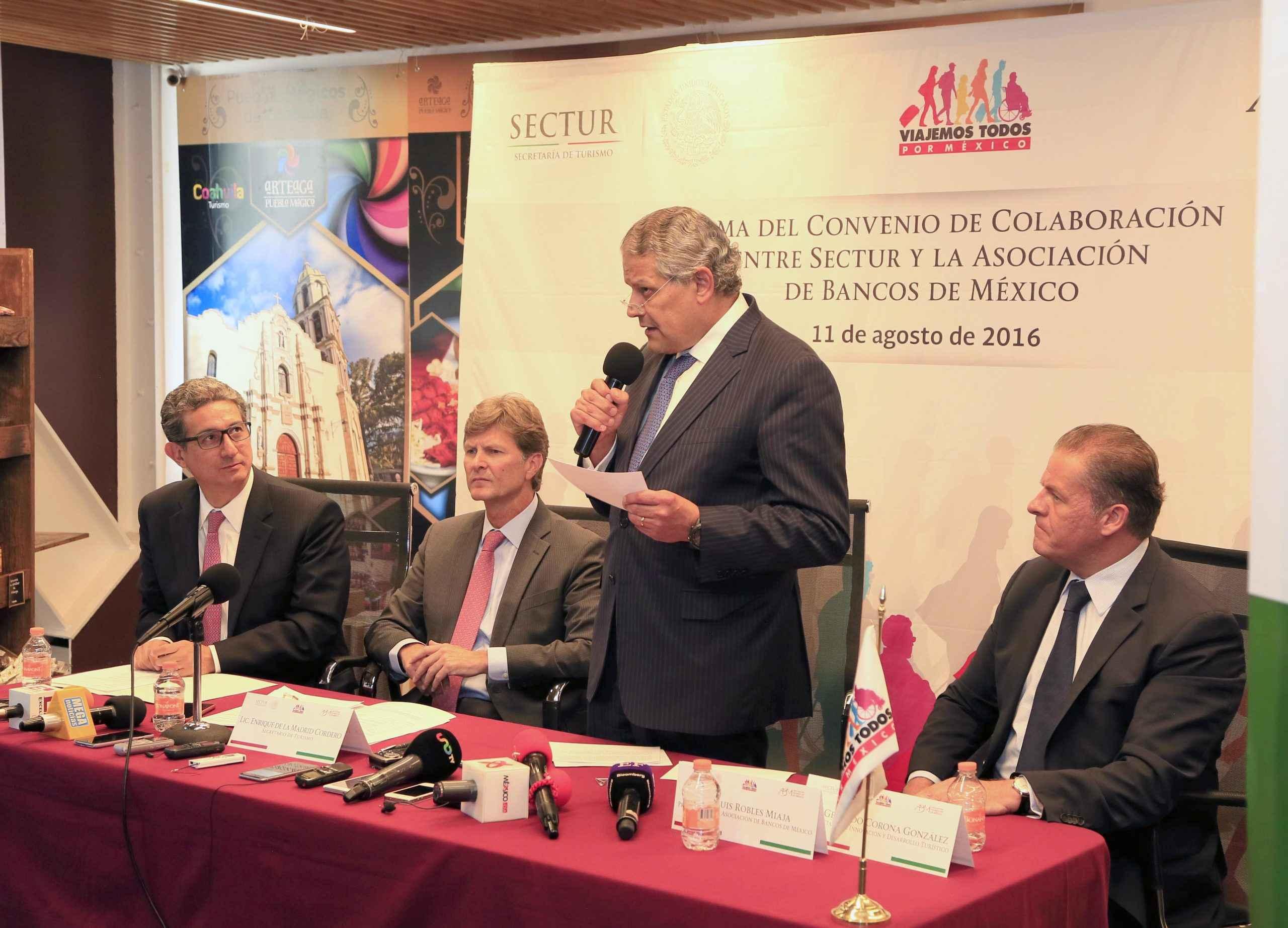 ABM y Sectur firman convenio para beneficiar al turismo