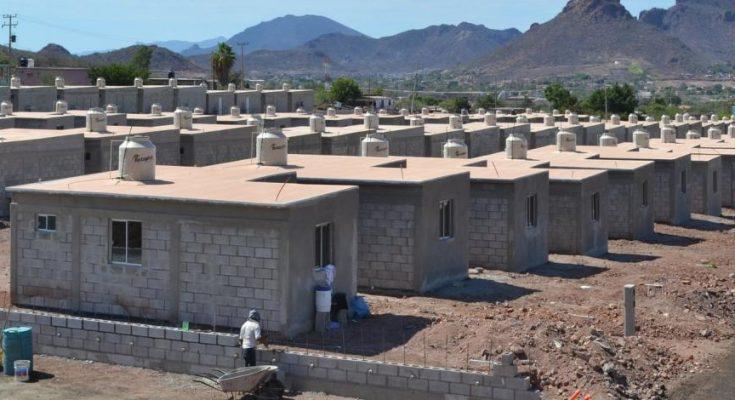 Sedatu continúa construyendo viviendas
