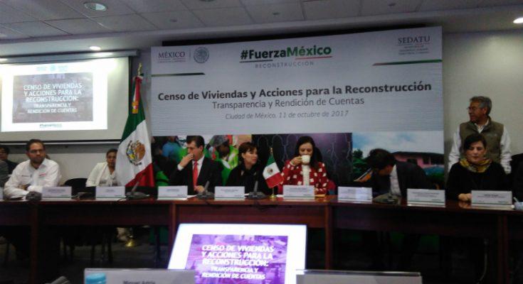 Se han entregado 22923 tarjetas para reconstrucción en Oaxaca y Chiapas