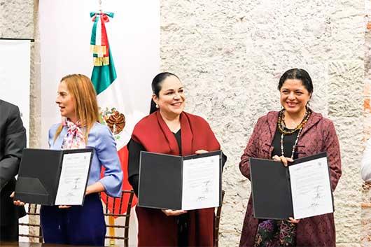 Secretaría de Cultura y Senado acuerdan divulgar la memoria histórica