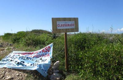 Clausuraron desarrollo 'Paraíso Sisal' por daño ambiental