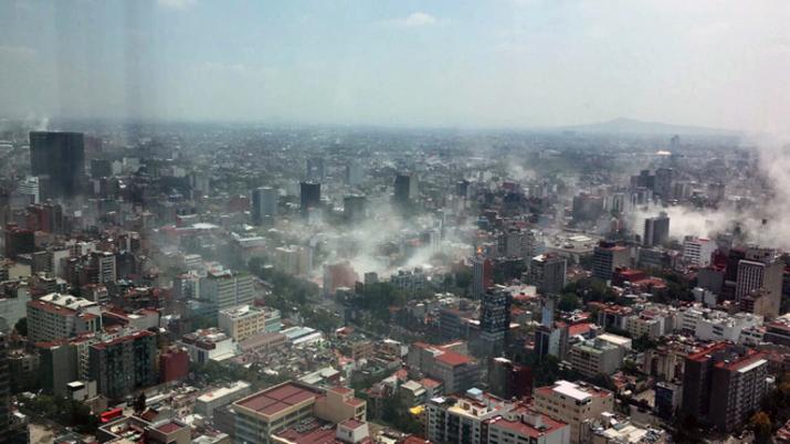Sobse informa avance de actividades tras sismo