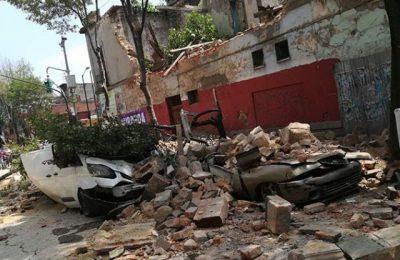 GCDMX apoyará con 11 edificios a afectados por sismo del 19s