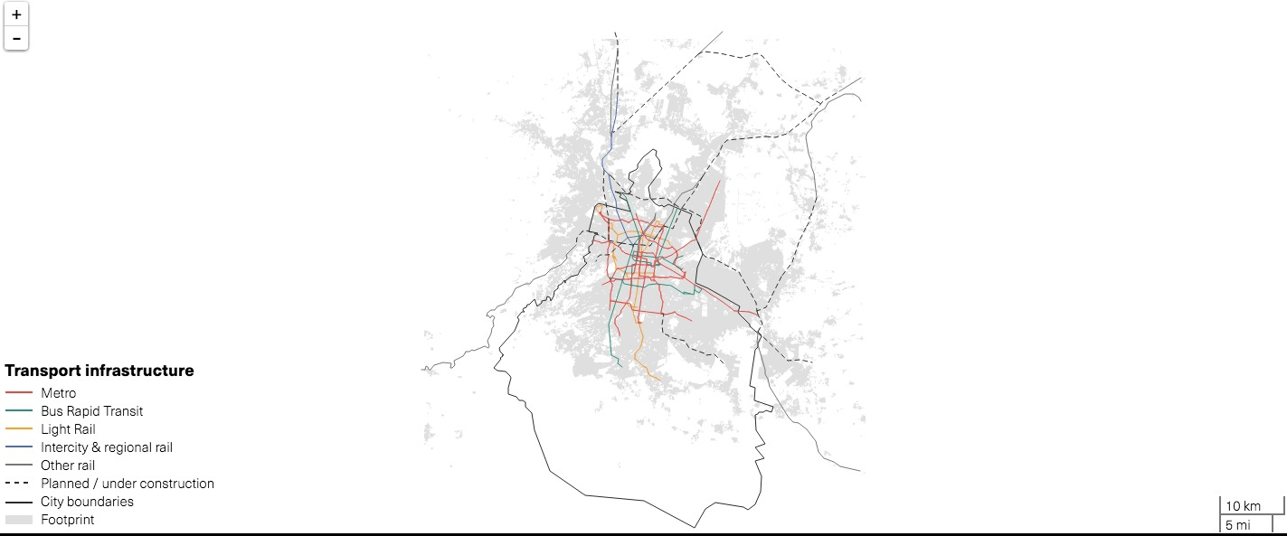 Realizan estudia del Sistemas de Transporte Público