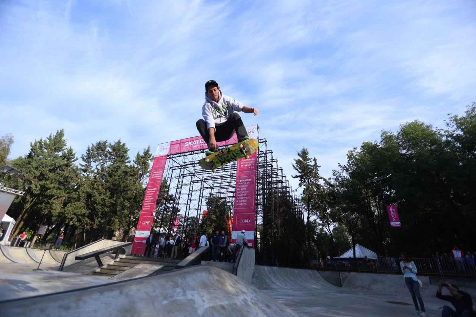 Inauguran Skatepark en Coyoacán