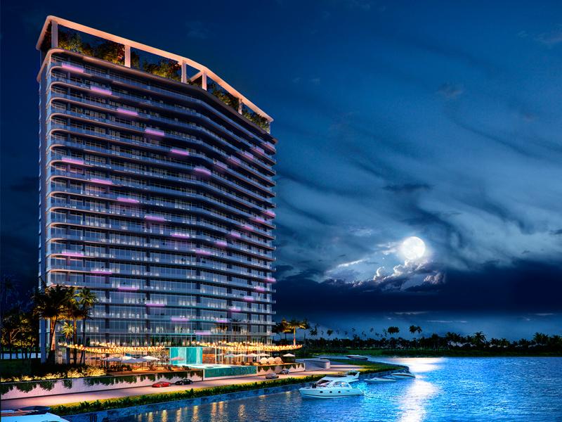 Presentan avances de SLS Marina Beach en Cancún