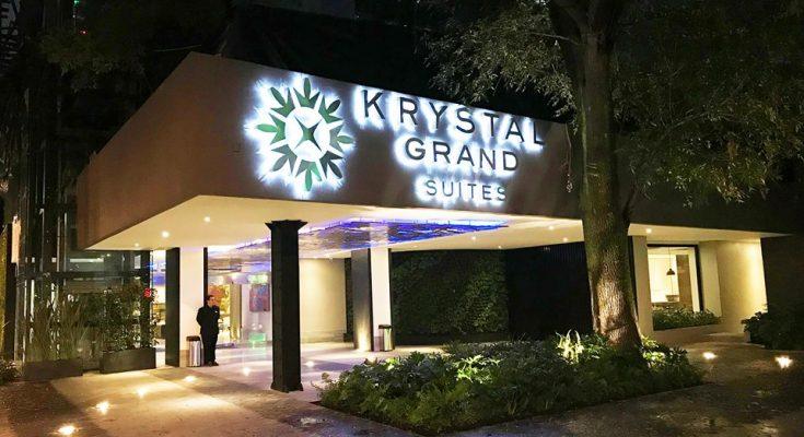 Krystal Grand Suites abrió sus puertas en la Ciudad de México