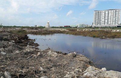 Detienen obras del proyecto 'INFINITY' en Tajamar