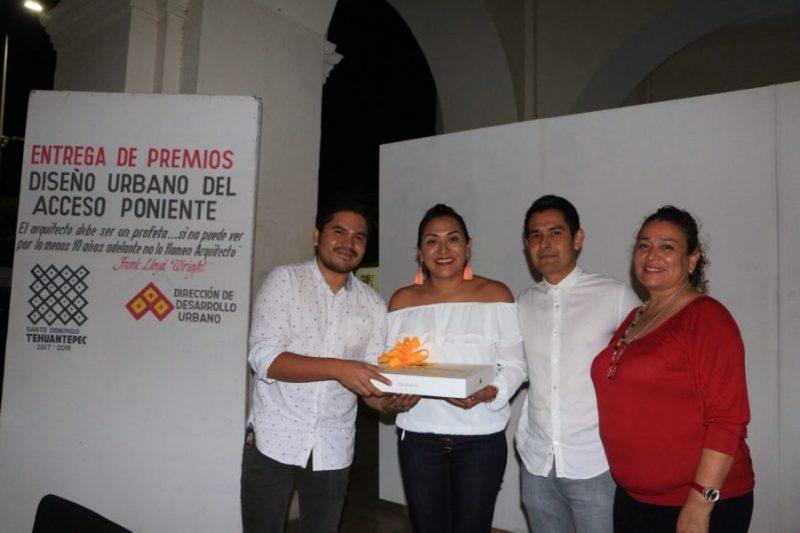 Reconocen a arquitectos de Tehuantepec