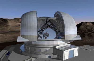 Construyen edificio para la instalación de telescopio robótico