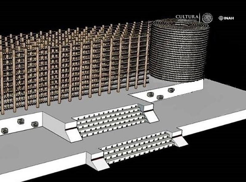 Arqueólogos y arquitectos reconstruyen el 'Templo Mayor'