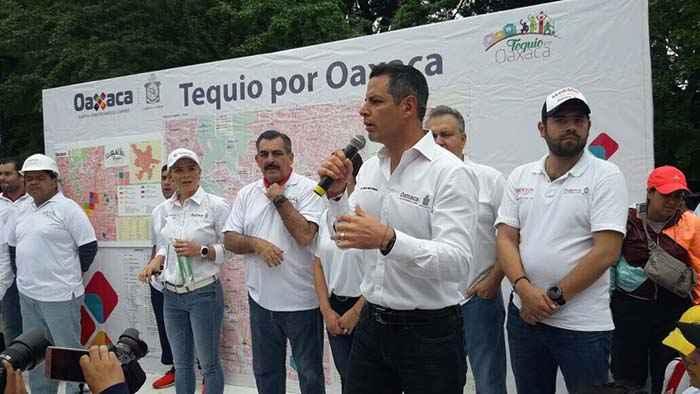 Inician actividades del Tequio por Oaxaca