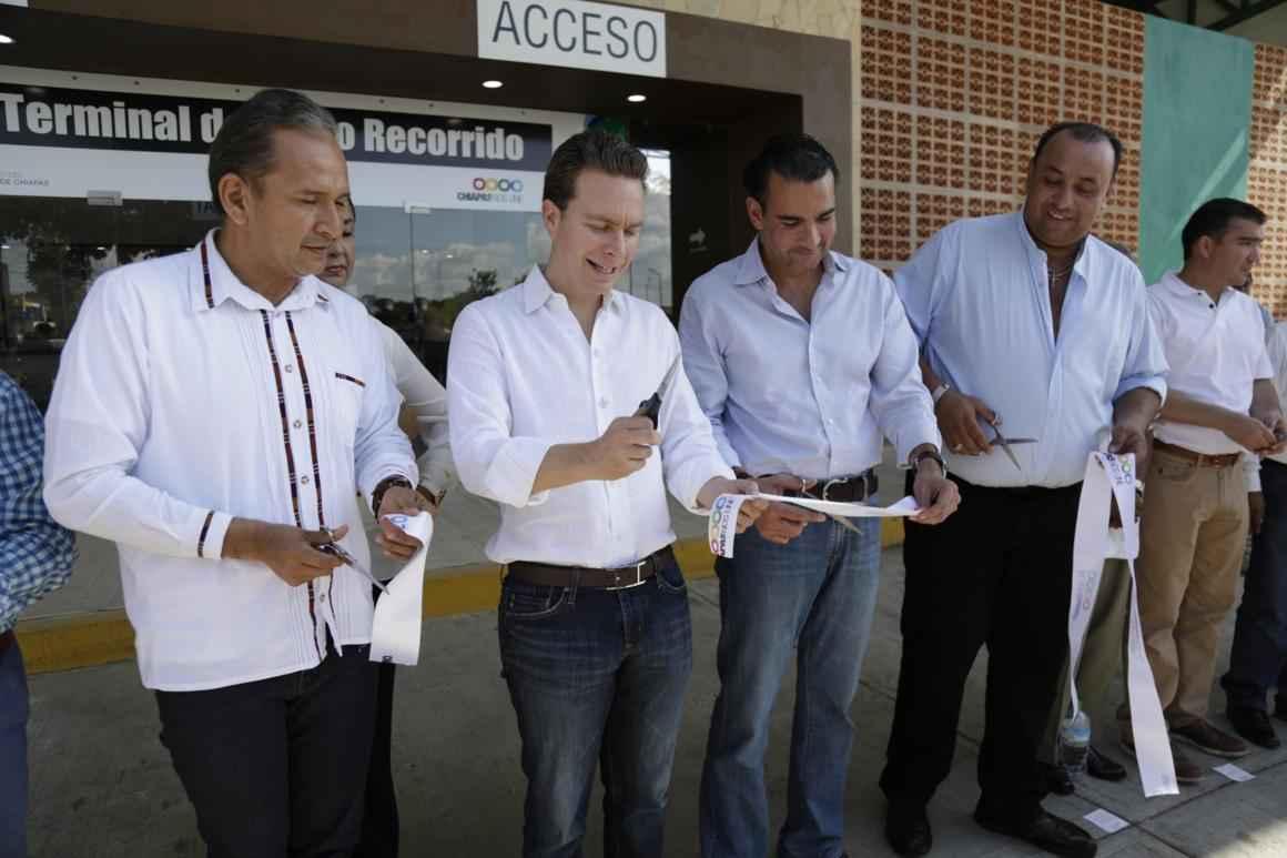 Inauguran Terminal de Corto Recorrido en Cacahoatán
