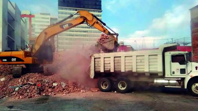 Recogen más de 80,000 toneladas de escombros