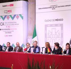 Anuncian décima edición de la Feria Internacional de las Culturas Amigas