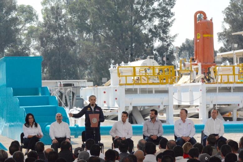 Inauguran pozo de aguas profundas en la CDMX