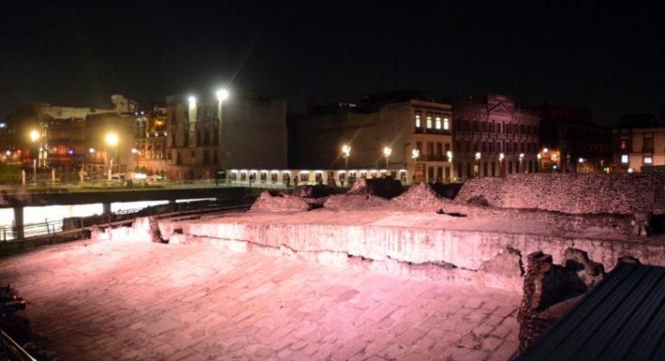 Templo Mayor lucirá nueva iluminación nocturna