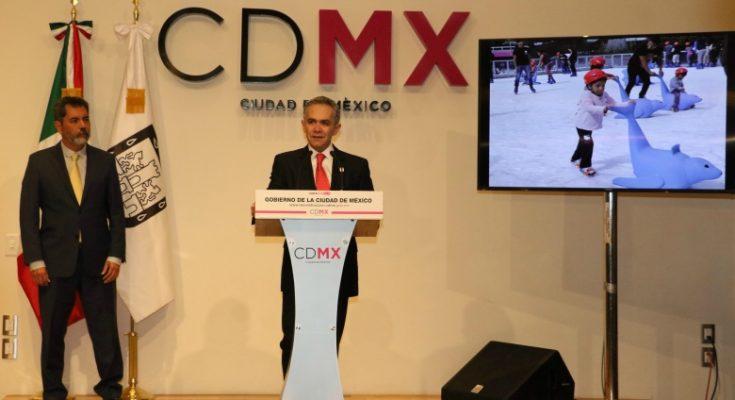 Llama Mancera a no politizar la reconstrucción de la CDMX
