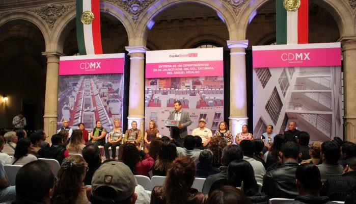 Constitución capitalina respalda derecho a vivienda digna: Amieva Gálvez