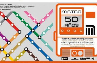 Museo Nacional de Arquitectura alista exposición sobre el Metro CDMX