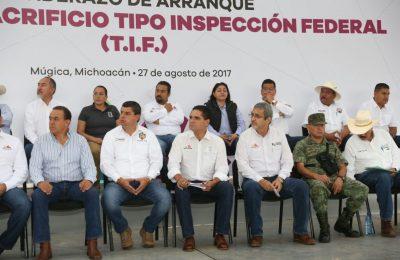 En Michoacán invierten 30 mdp en Planta de Sacrificio